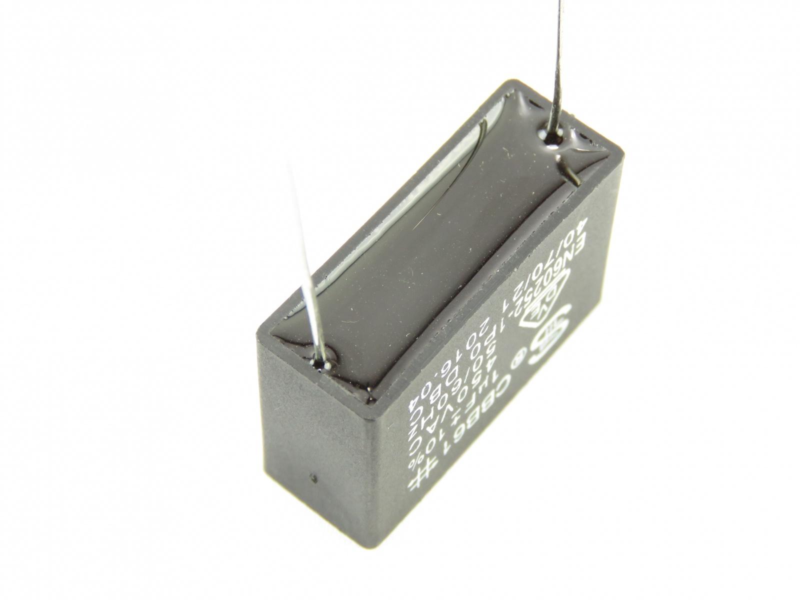 Condensateur démarrage moteur 1uF 450v MOTCAP1UF450V-B (image 2/2)