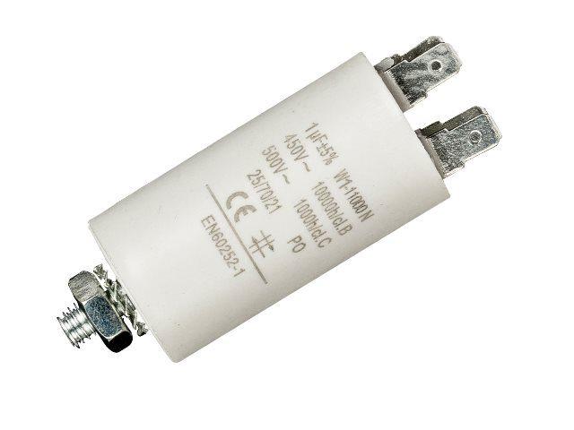 Condensateur démarrage moteur 1uF 450v MOTCAP1UF450V