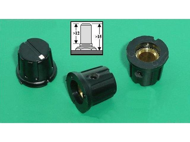 Bouton de potentiomètre POT-KNOB02-12B